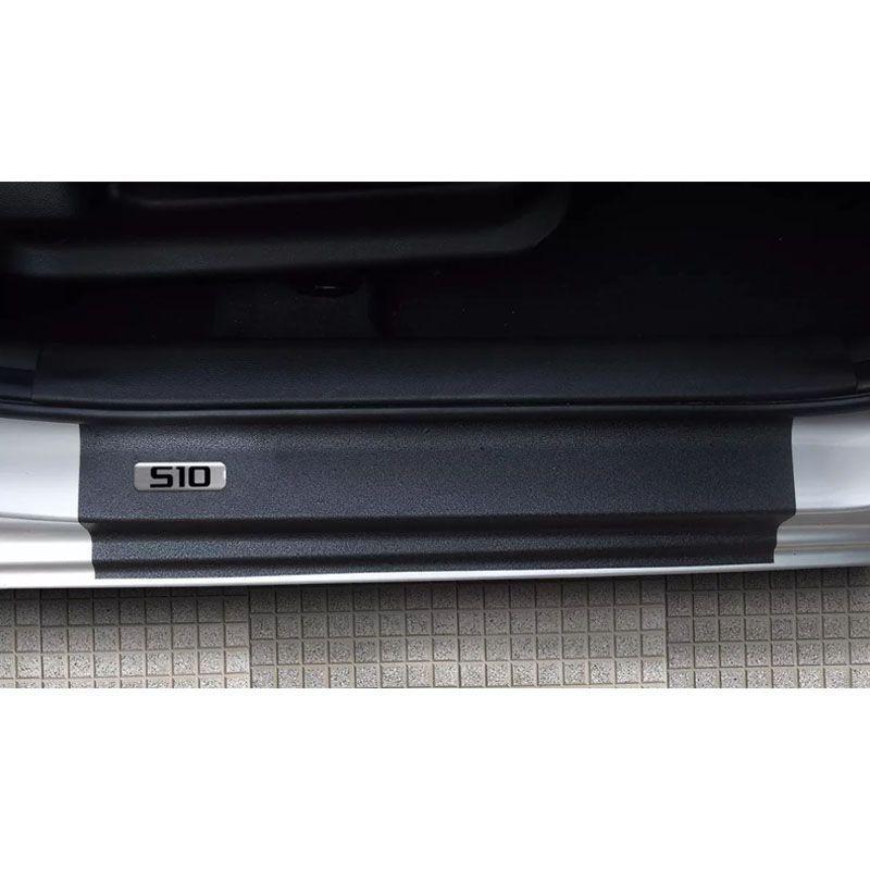 Kit Soleira da Porta S10 12/ Resinado Com Black Over