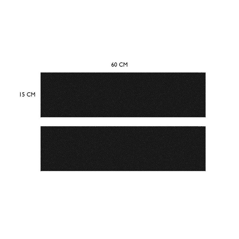 Kit Soleira Da Porta Saveiro Com Black Over Resinado