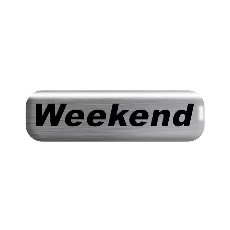 Kit Soleira da Porta Weekend Resinado Com Black Over