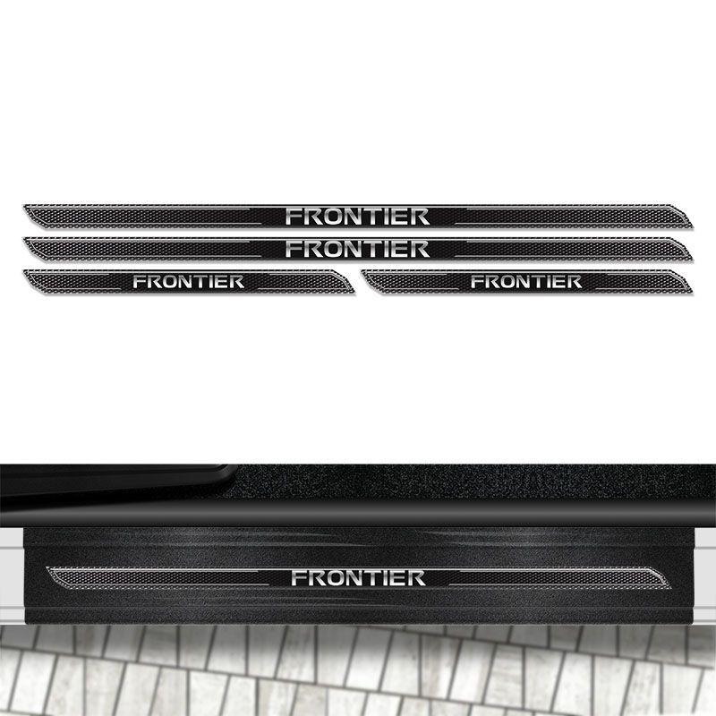Kit Soleira Diamante Frontier 2014/2018 E Protetor De Porta