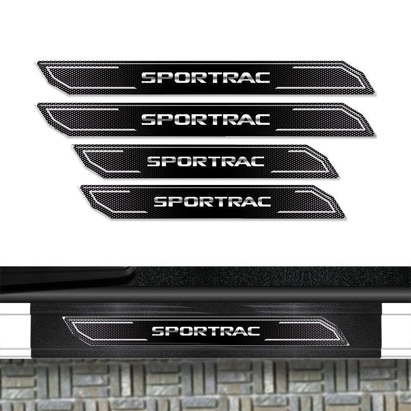 Kit Soleira Diamante Ranger Sportrac Com Protetor de Porta