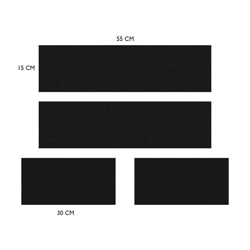 Kit Soleira + Friso Porta-malas Logan 14/17 Resinado Cromado
