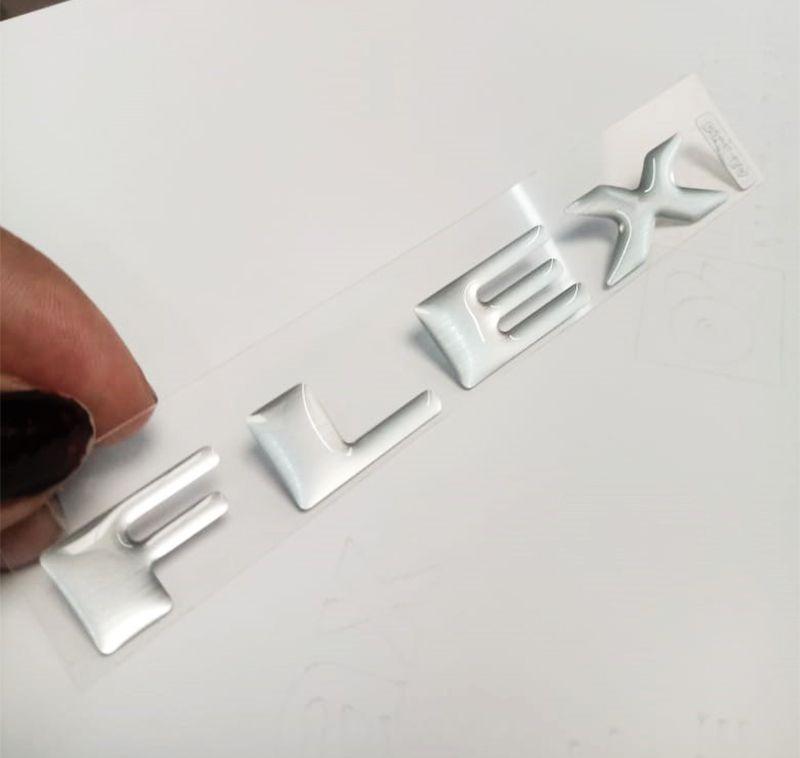 Par Adesivos Flex Do Capô Pajero Tr4 Aço Escovado Resinado