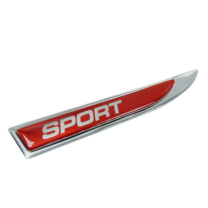 Par De Apliques Protetor Paralama Sport Vermelho Resinado