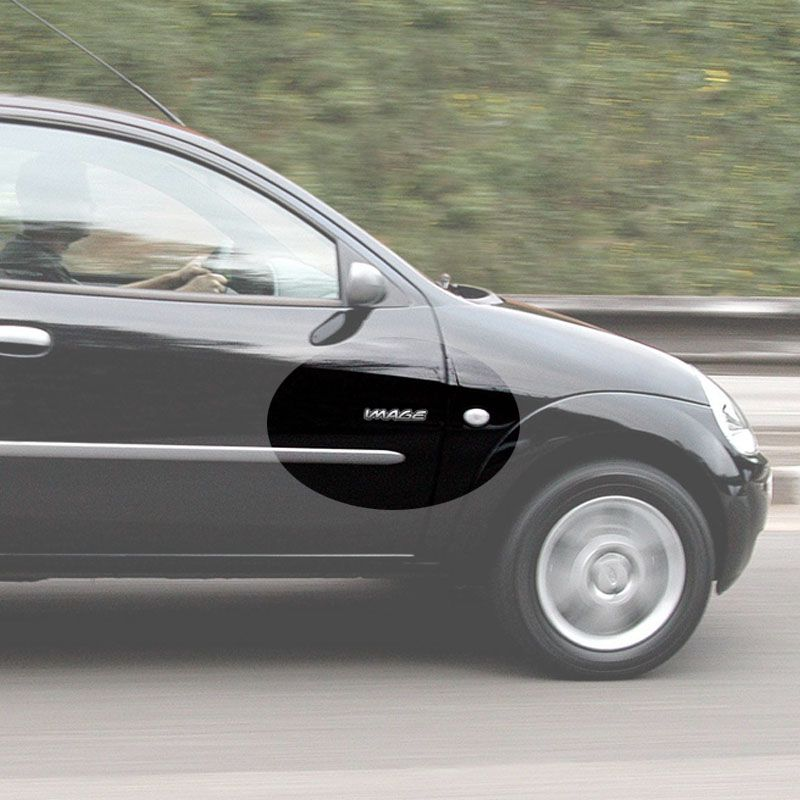 Par de Adesivos Image Ford Ka 2000/2007 Resinado