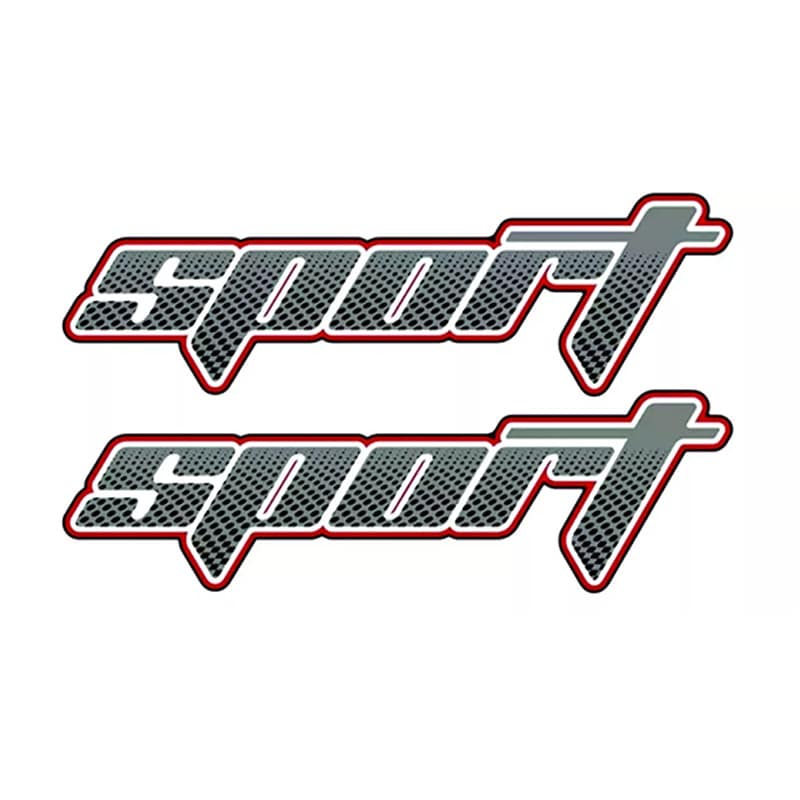Par De Adesivos Sport Ranger 2009/2012 Modelo Original