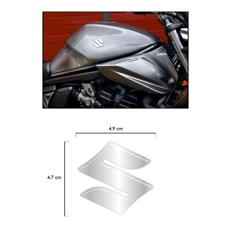 Par De Emblemas Tanque Suzuki Bandit Bking Hayabusa Resinado