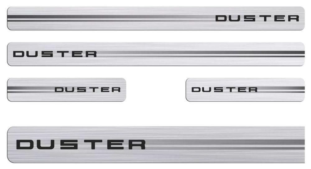 Soleira da Porta Duster Resinada c/ Black Over