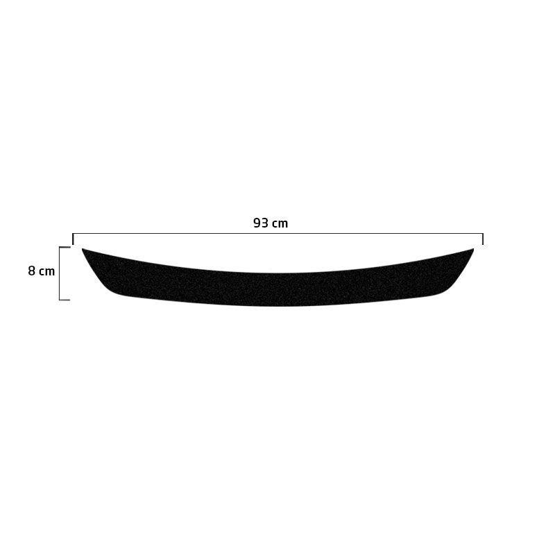 Soleira Do Porta-Malas Arrizo 5 Chery Adesivo Protetor Black