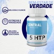 5 HTP 100mg - 30 cápsulas - Auxílio no Tratamento da Ansiedade