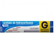 ACETATO DE HIDROCORTISONA 15G CREME TEUTO - GENÉRICO