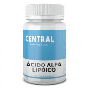 Ácido Alfa Lipóico 300mg - 30 cápsulas - Antioxidante, Auxílio na Proteção Hepática