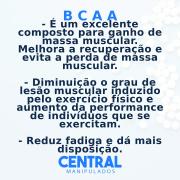 BCAA 600mg - 30 cápsulas - Ganho de Massa Muscular
