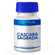 Cascara Sagrada 75mg 60 cápsulas - Melhora o funcionamento intestinal