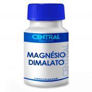 Magnésio dimalato 500mg 120 cápsulas - Melhora a fraqueza muscular e a saúde óssea