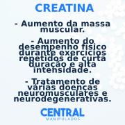 Creatina 500mg - 60 cápsulas - Massa muscular e Desempenho Físico
