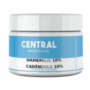 Hamamelis 10% + Calêndula 10% - 100gramas Creme - Adstringente, Acne, Varizes, Cicatrizante, Cicatrização de feridas