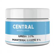 Ureia 10% + Manteiga de Karité 5% + Glicerina 10% - 100gramas Creme - Previne o Ressecamento, Antioxidante, Protege a Pele