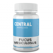 Fucus vesiculosus 500mg - 30 cápsulas - Auxílio na Redução de Medidas e Gerenciamento do Peso