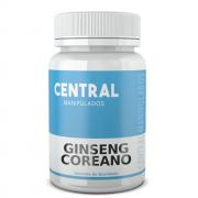Ginseng Panax - 200mg - 120 cápsulas - ESGOTAMENTO FISICO