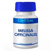 Melissa officinalis 500mg 30 cápsulas - Auxilia no tratamento do nervosismo, agitação e distúrbios do sono