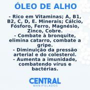 Óleo de Alho 250mg - 30 cápsulas