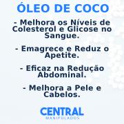 Óleo de Coco Orgânico 1Grama - 30 cápsulas