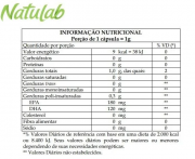 OMEGA 3 120 CÁPSULAS OLEOSAS VITAZ - NATULAB