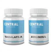 Tadalafila 10mg 60 Cápsulas + Arginina 500mg 60 Cápsulas - Vasodilatador