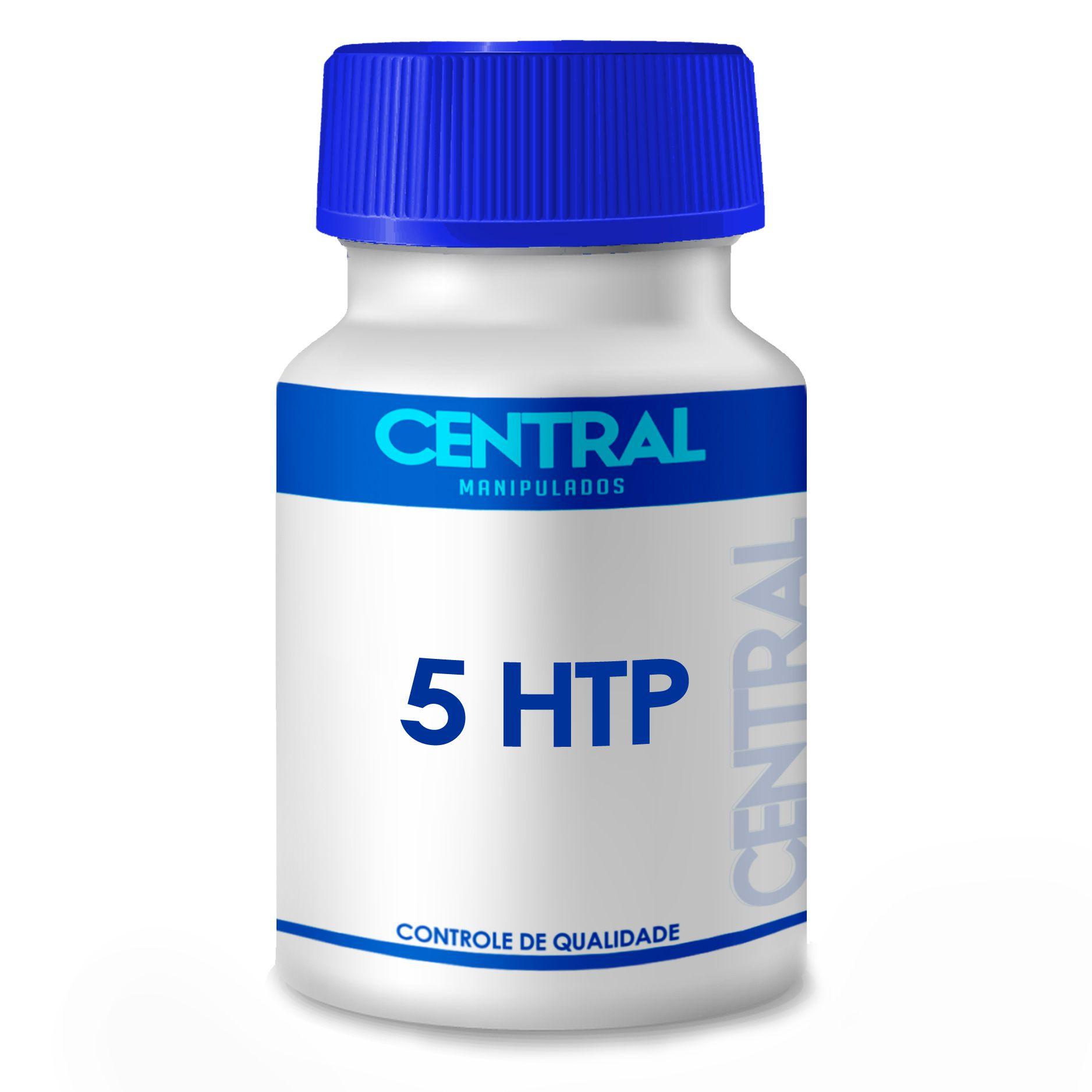5 HTP 100mg 30 cápsulas - Melhora do humor e Stress