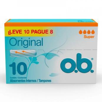 ABSORVENTE OB ORIGINAL SUPER L10P8