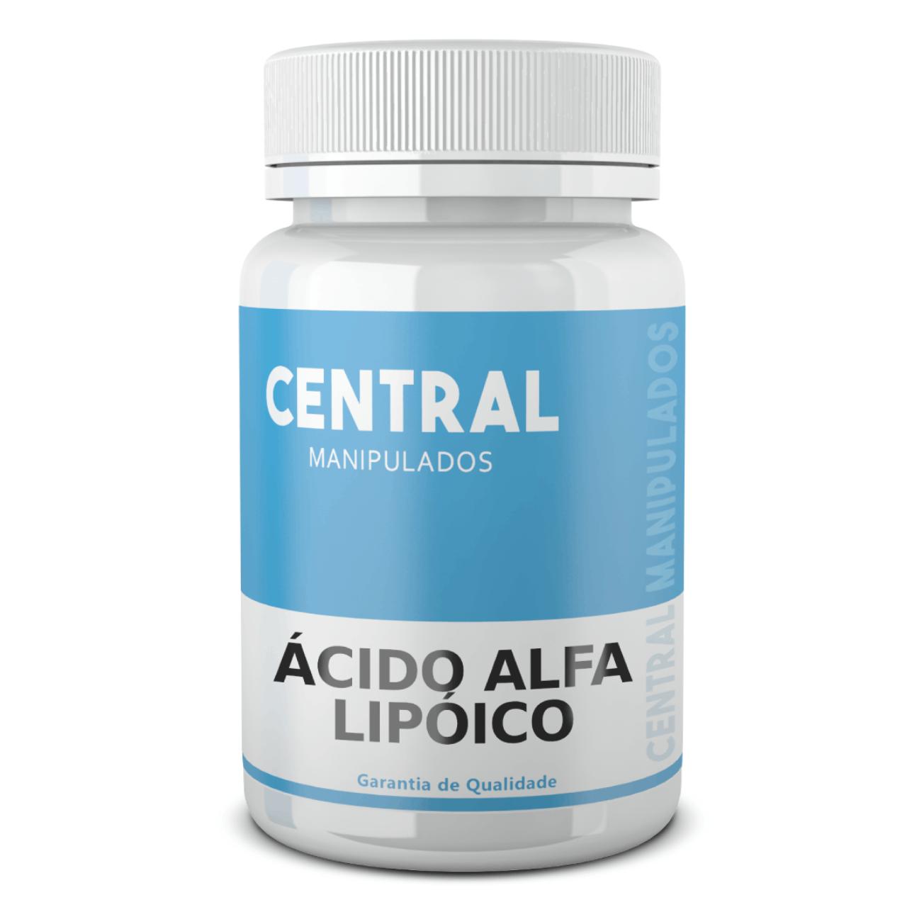 Ácido Alfa Lipóico 500mg - 60 cápsulas - Antioxidante, Auxílio na Proteção Hepática