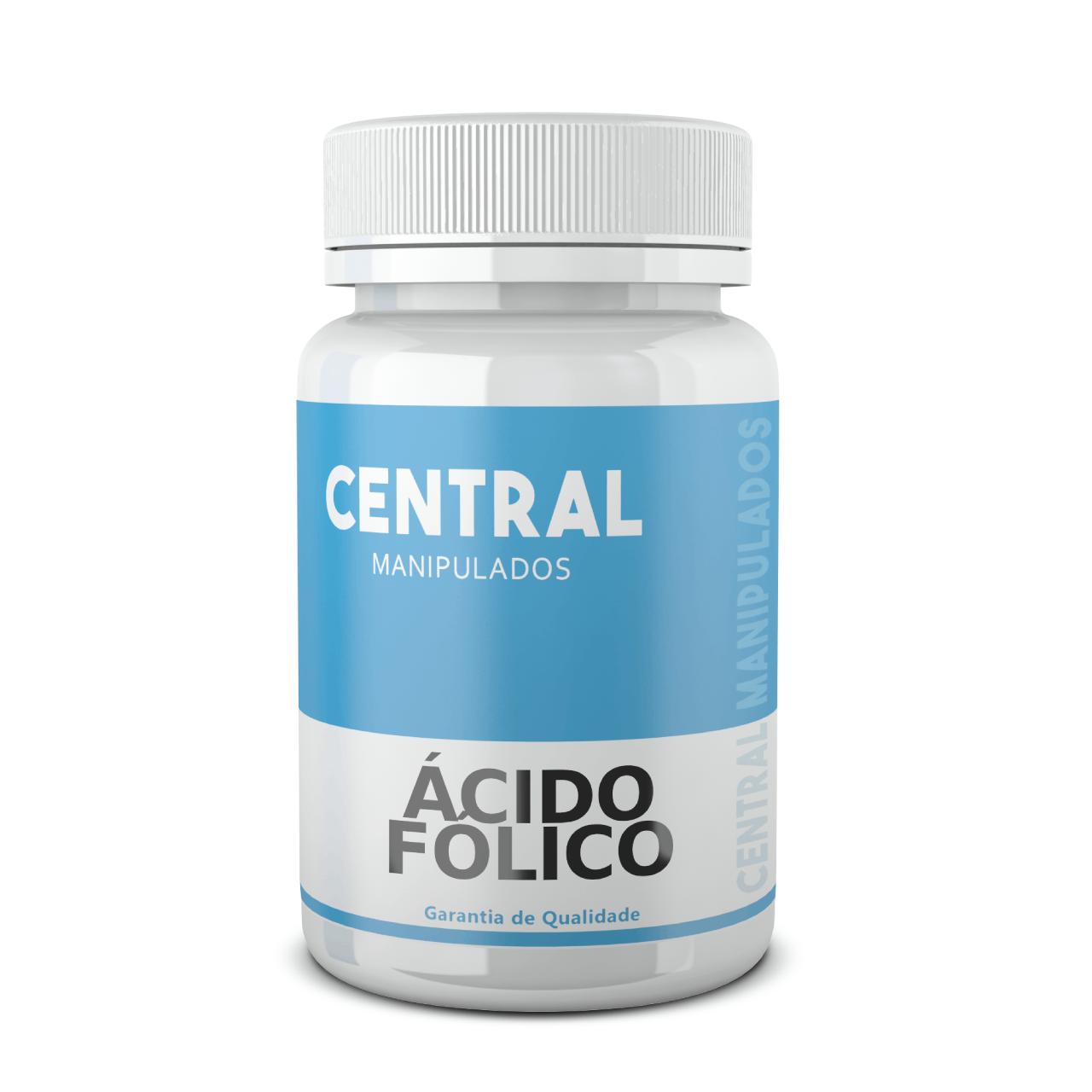 Ácido Fólico 1.000mcg - 60 cápsulas - Vitamina B9