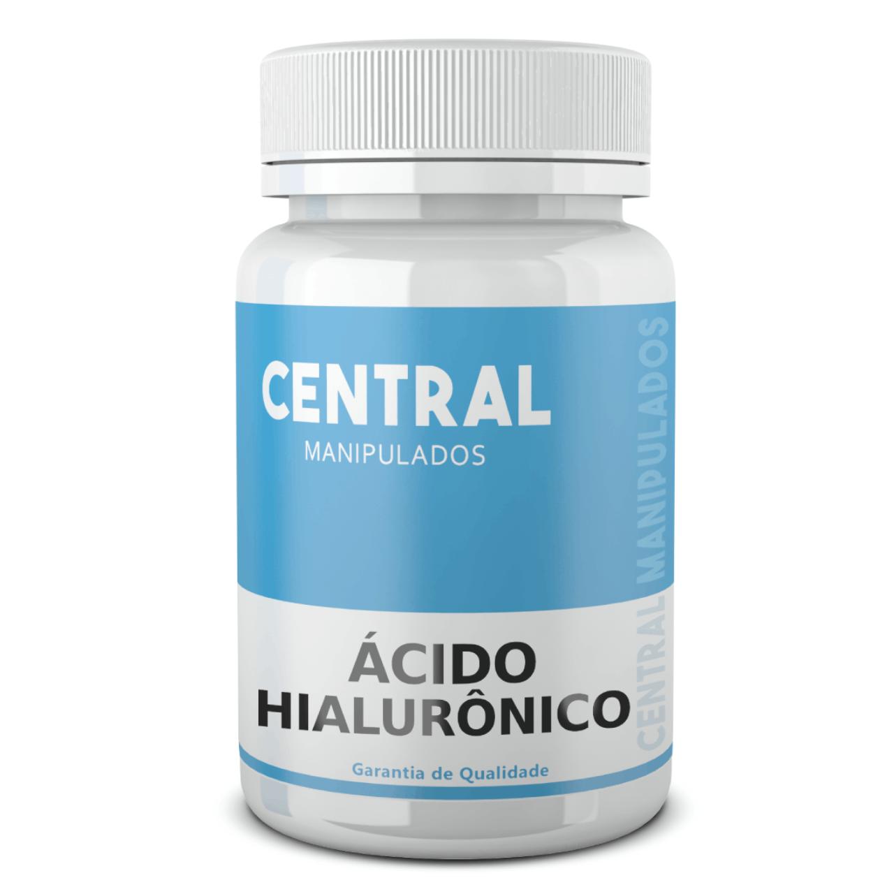 Ácido Hialurônico 50mg - 120 cápsulas