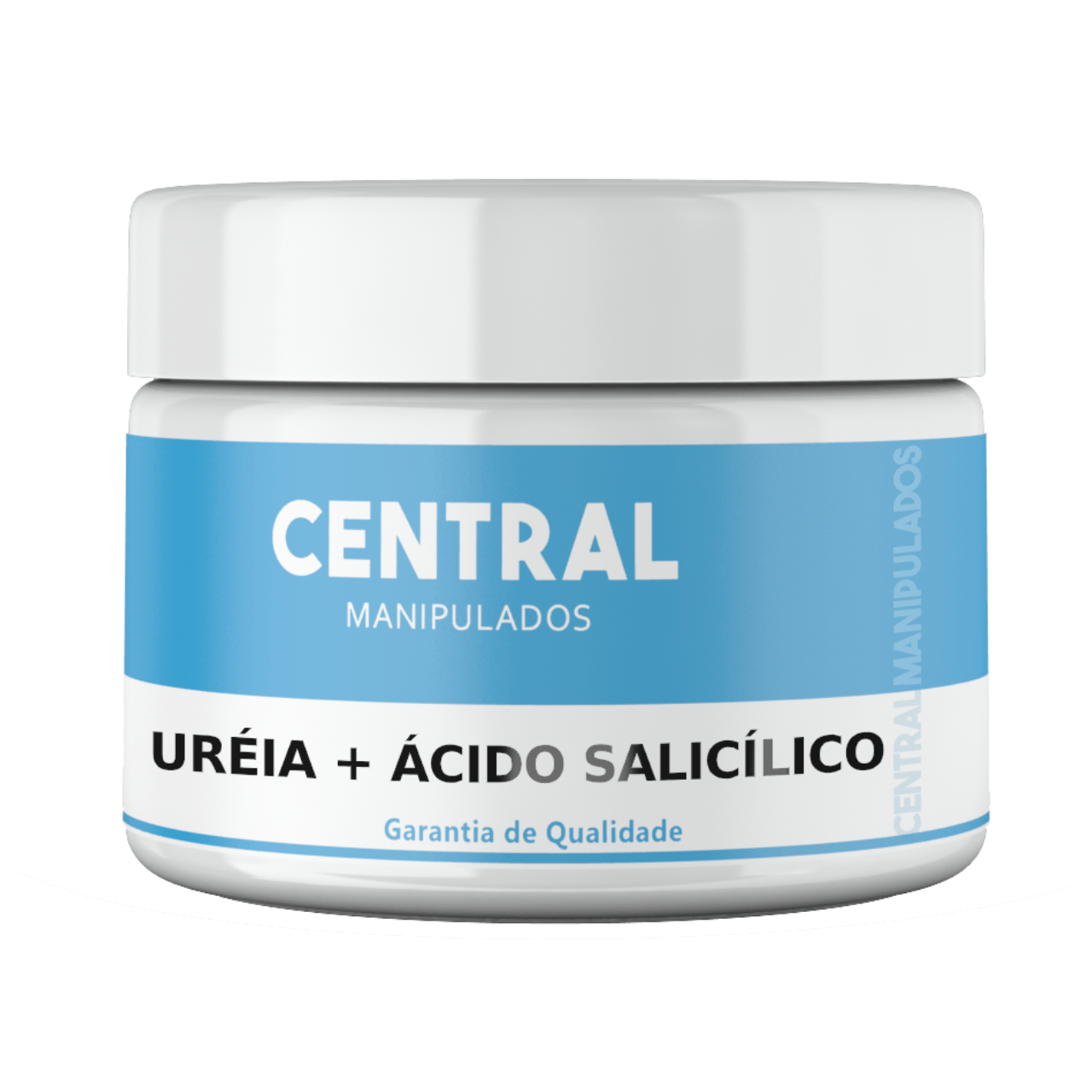 Ácido salicílico 3% com Uréia 10%  - Creme 300g - Renovação para a pele, previne rugas, espinhas, controla oleosidade