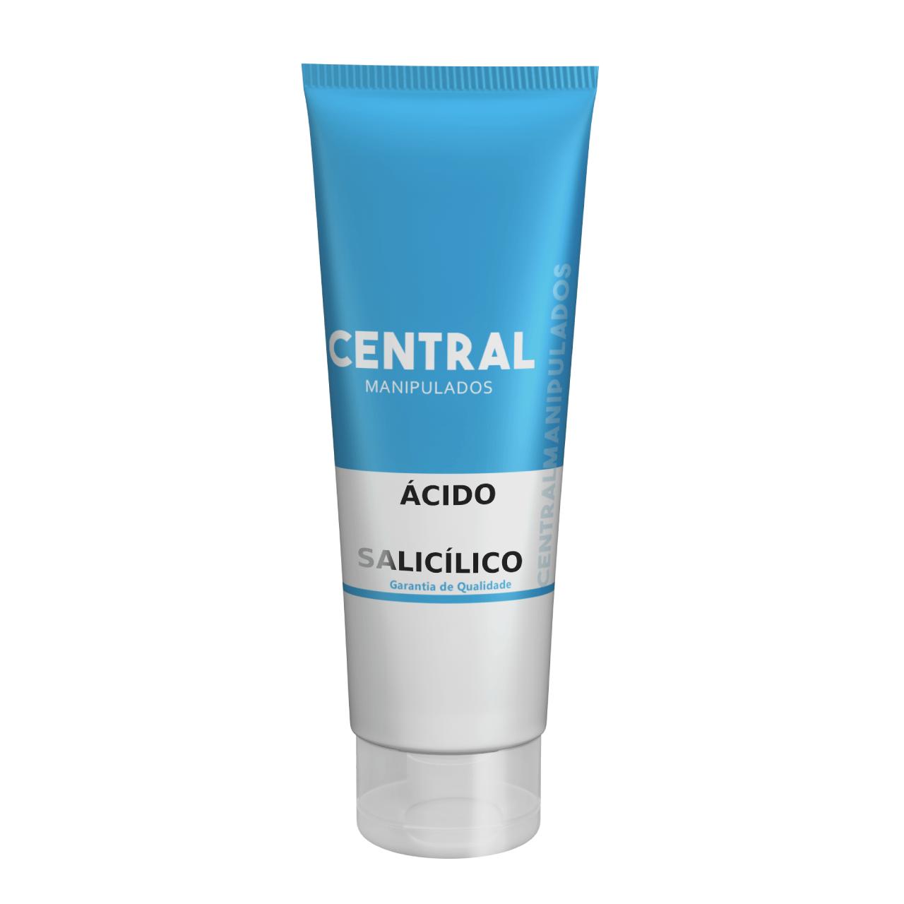 Ácido salicílico 3% com Uréia 10%  - Creme 60g - Renovação para a pele, previne rugas, espinhas, controla oleosidade