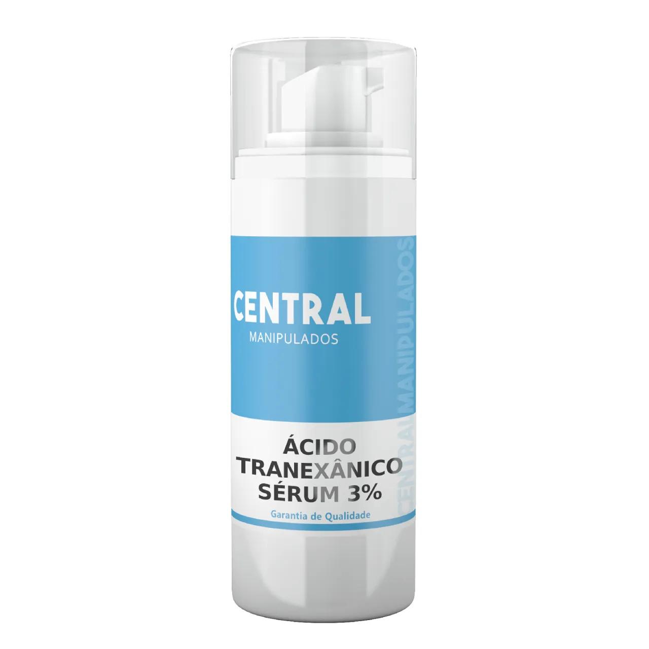 Ácido Tranexâmico 3% - Sérum 30mL - Para melasmas (manchas na pele)