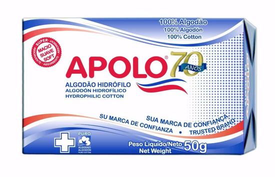ALGODÃO APOLO BOLAS 50GR
