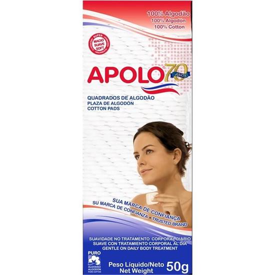 ALGODÃO APOLO MULTIUSO ZIP 50GR