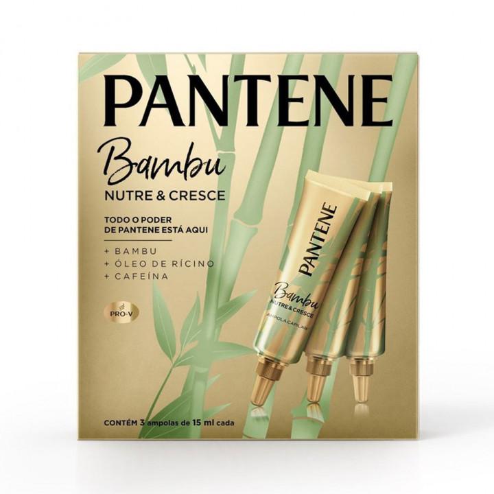 AMPOLA PANTENE BAMBU 3UN 15ML