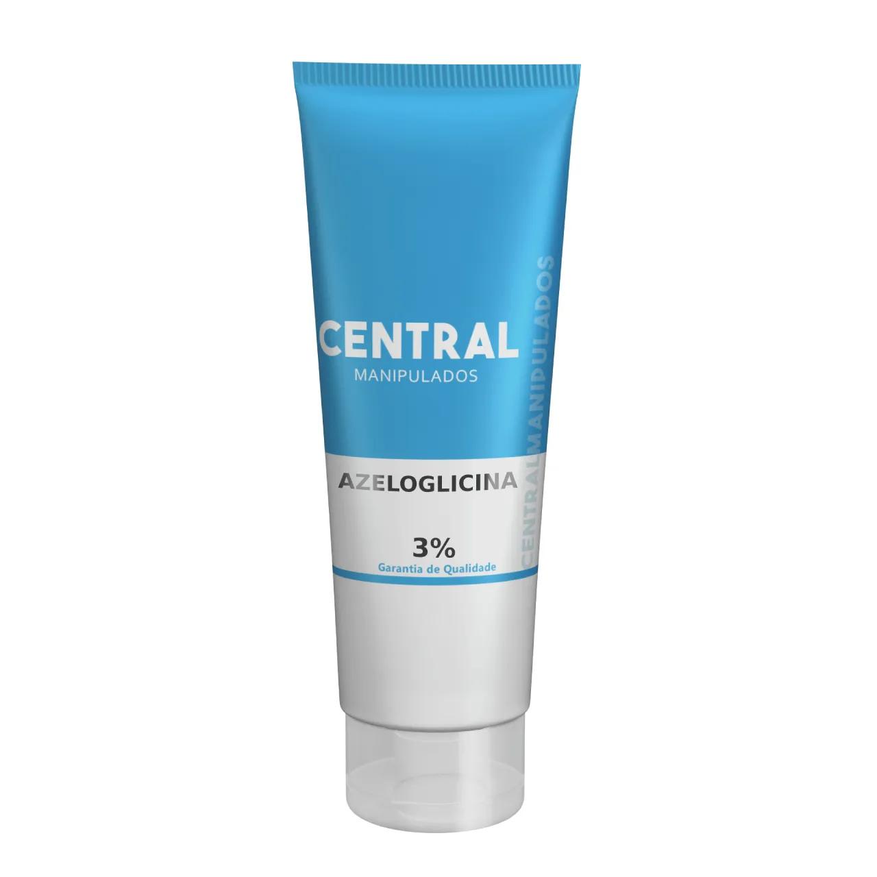 Azeloglicina 3% - Creme 30g - Clareador de Axilas e Virilhas, Remove Manchas, Melhora a Aparência da Pele