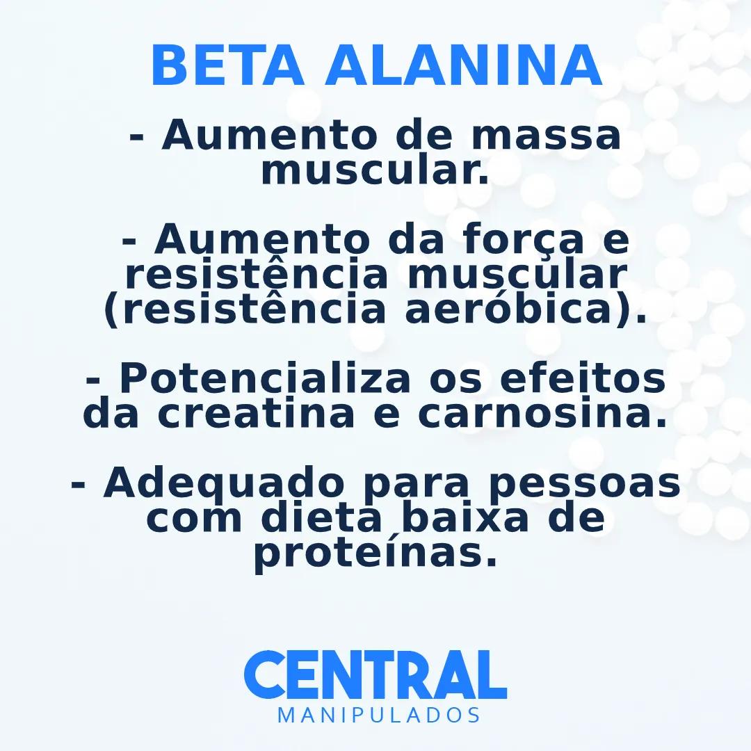 Beta Alanina 3g - 90 Sachês - Aumento da massa muscular, resistência aeróbica, força e resistência