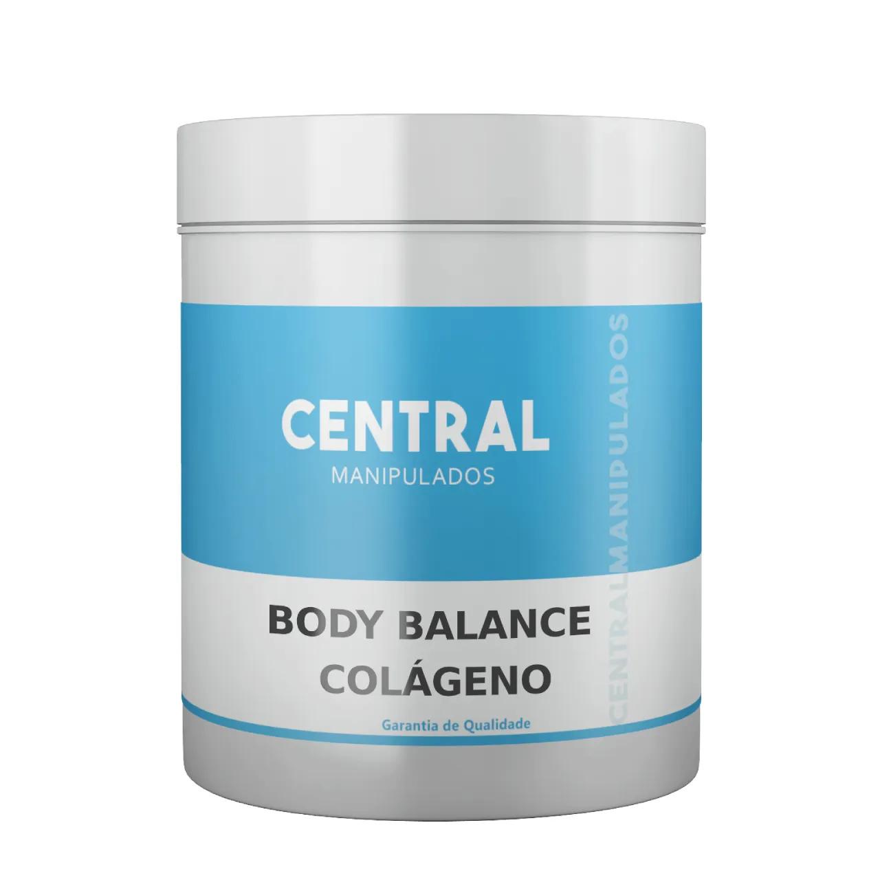 Body Balance Em Pó - Colágeno em pó - sabor laranja - 450g - Aumenta massa muscular, diminui gordura corporal, suplemento protéico de uso diário