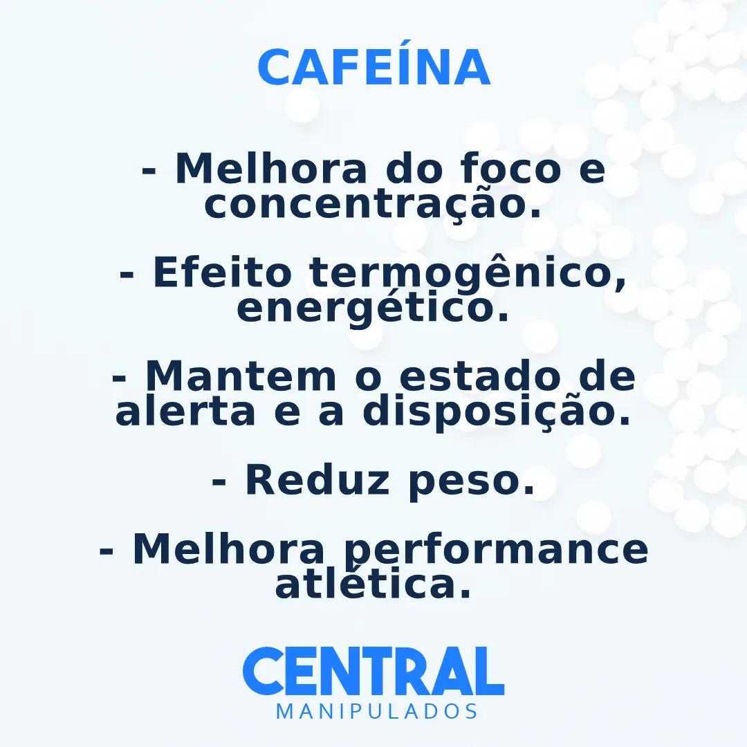Cafeína 300mg - 120 cápsulas - Termogênico, Acelera o Metabolismo