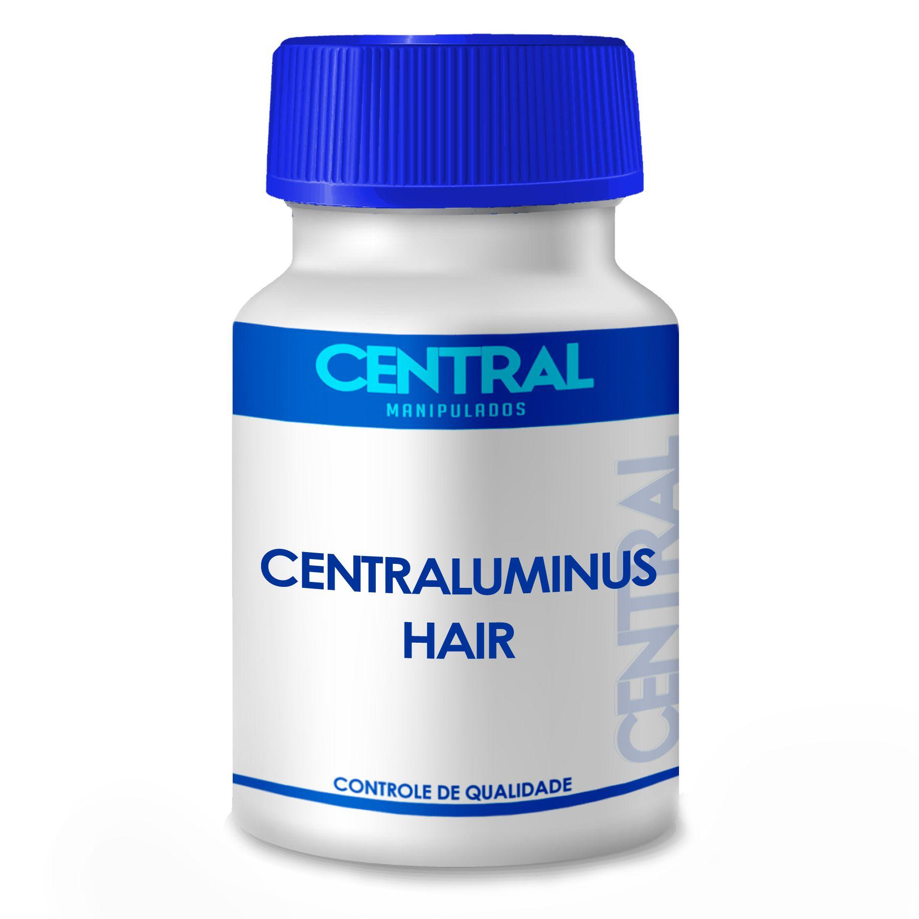 Centraluminus Hair - Brilho e Beleza dos Cabelos - 120 cápsulas