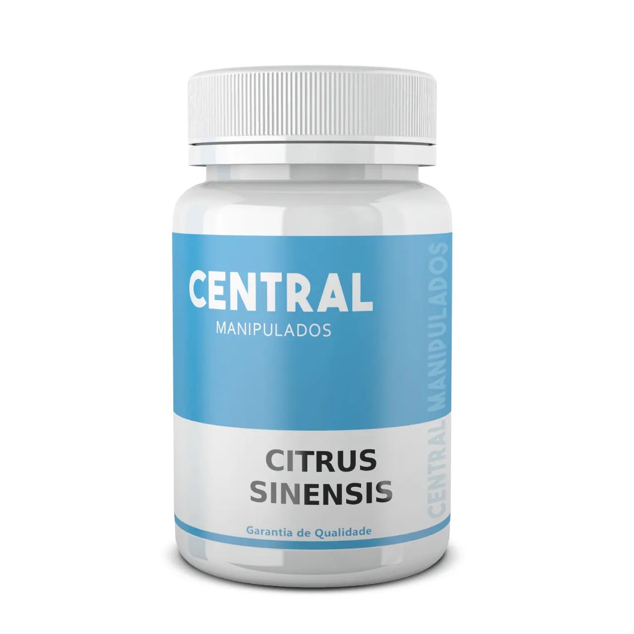 Citrus Sinensis (Laranja Moro) 500mg - 120 cápsulas - Emagrecimento, Redução do colesterol e triglicerídeos