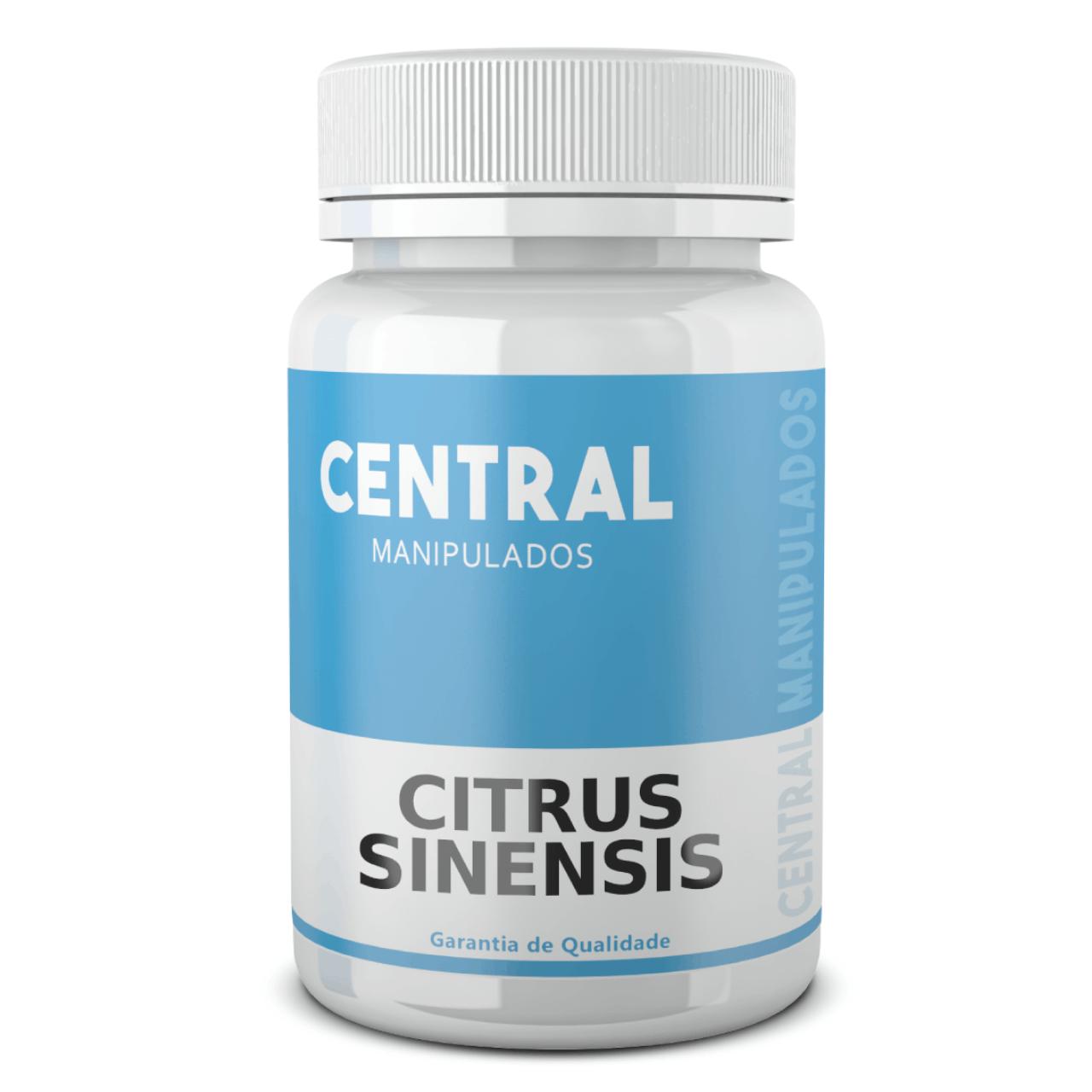 Citrus Sinensis (Laranja Moro) 500mg - 60 cápsulas - Auxílio na Redução de Medidas e Gerenciamento do Peso