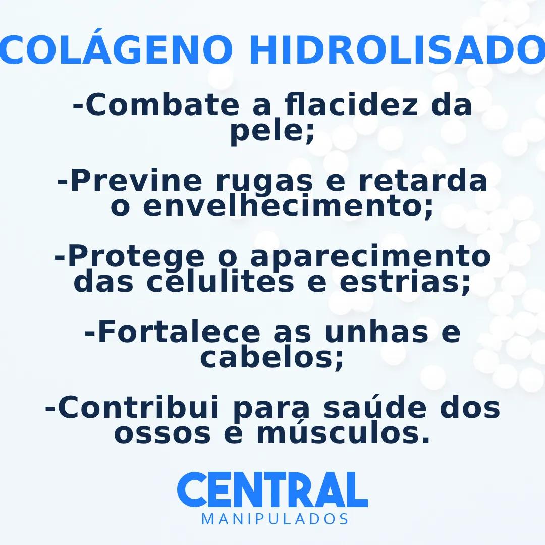Colágeno Hidrolisado - 300g em pó - Saúde da Pele, Previne rugas, envelhecimento, estrias, celulite