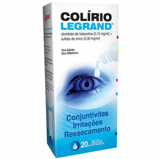 COLÍRIO LEGRAND SOLUÇÃO OFTÁLMICA 20 ML-LEGRAND