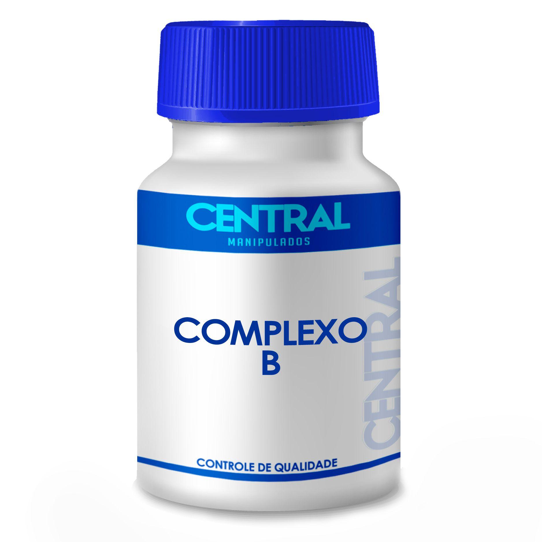 Vitamina Complexo B - 60cps